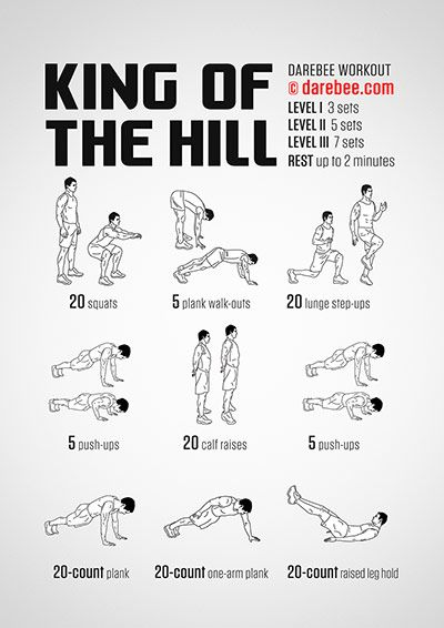 King of the Hill Workout