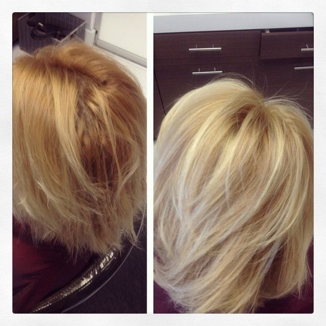 how to fix my brassy highlights