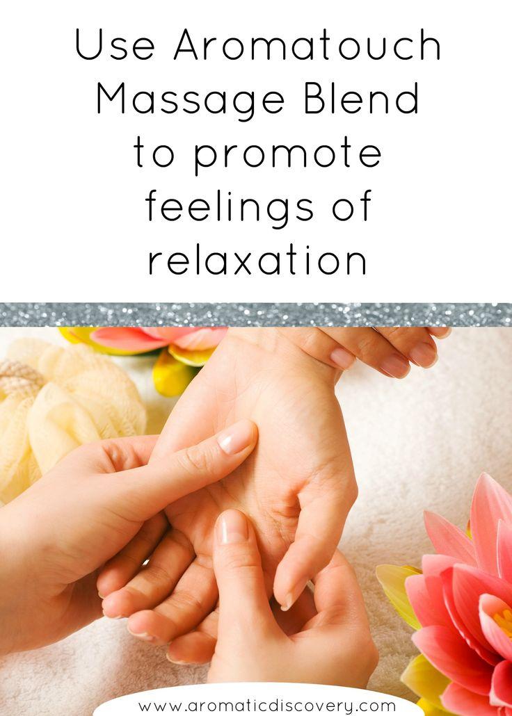 make massage essential blends uses