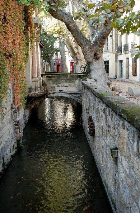 Rue des Teinturiers, Avignon, Provence, France