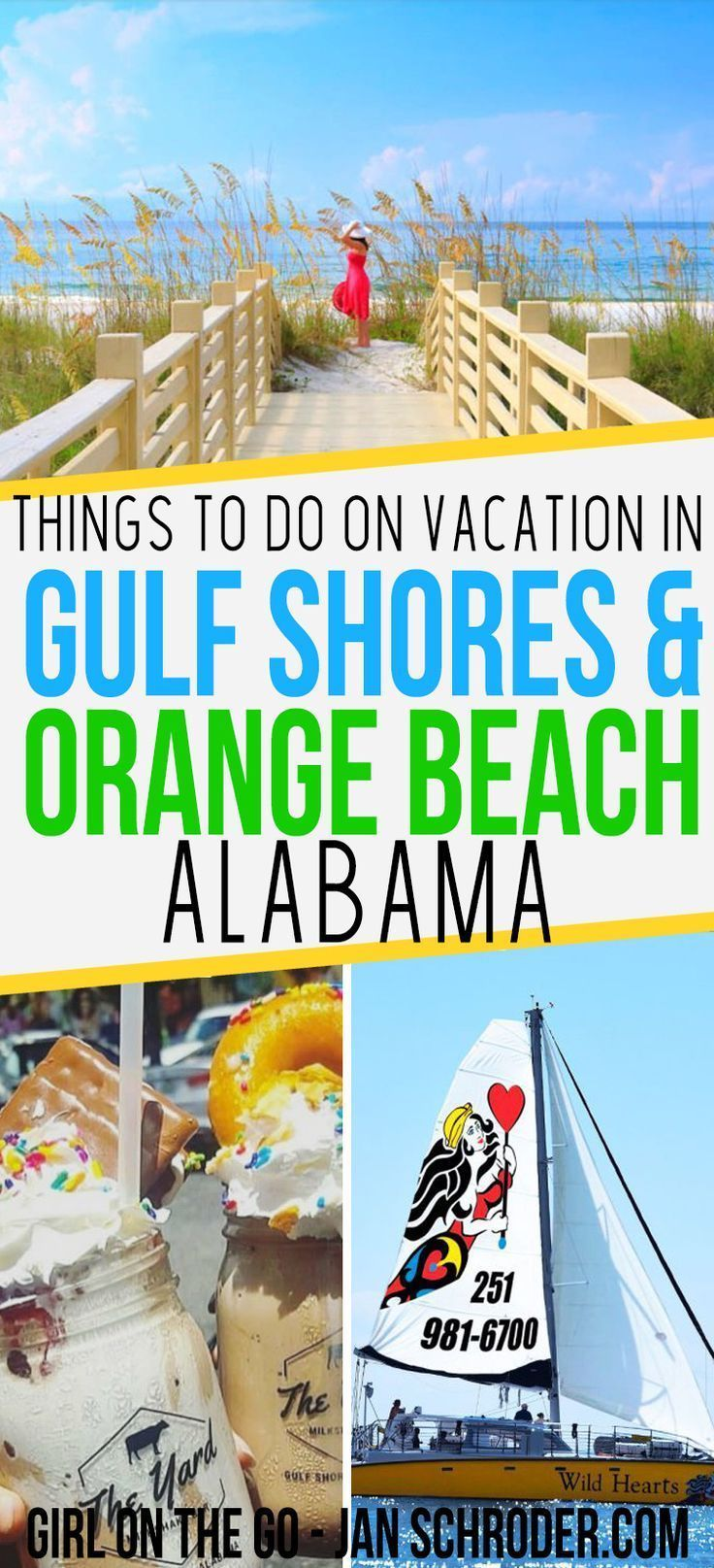 Alabama has so much to offer from delicious sweet treats to beaches and so much more. Click to start planning your vacation to the Gulf Shores and Orange Beach! #usa ***************************************** USA destinations | Gulf Shores Alabama | Gulf Shores vacation | Gulf Shores restaurants | Orange Beach Alabama | Orange Beach Alabama things to do in | Alabama travel | Alabama destinations #TravelDestinationsUsaSpringBreak