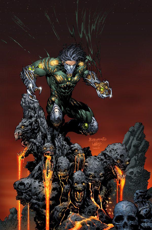 Jackie Estacado, wielder of the Darkness - Comic Art Work By Marc Silvestri