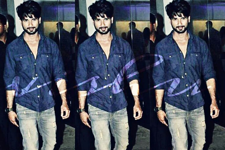 Shahid in Blue