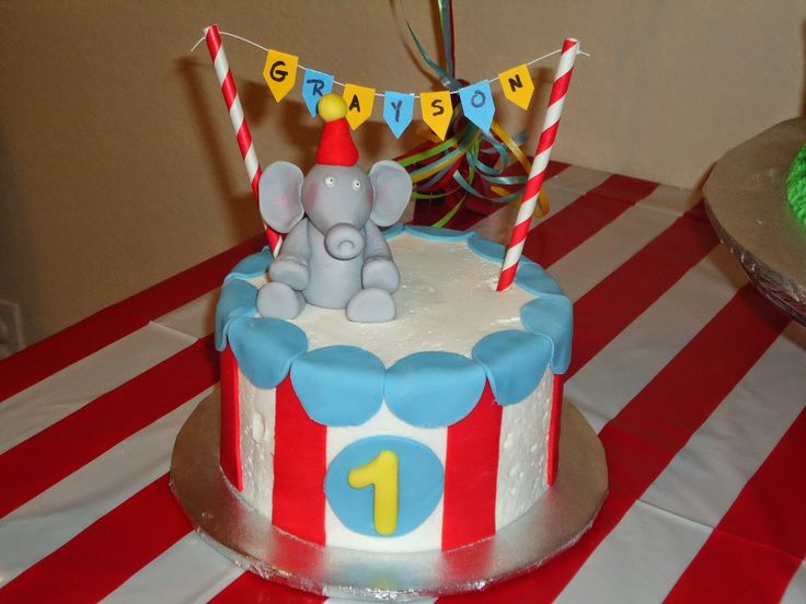 A Circus Party ~ Grayson's First Birthday ~ The Decorations