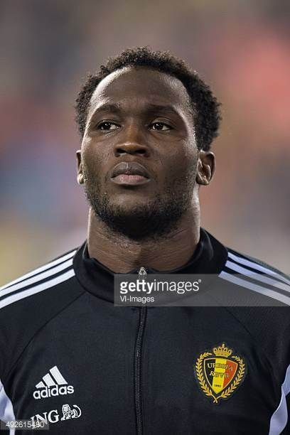 Romelu Lukaku of Belgium during the UEFA EURO 2016 group B qualifying match between Belgium and Israel on October 13 2015 at the Koning Boudewijn...