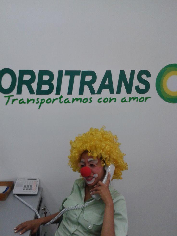 Día de disfraces Orbitrans 2013!