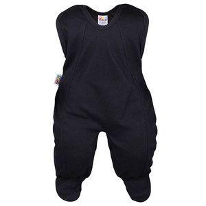 Grenouillère bébé noire
