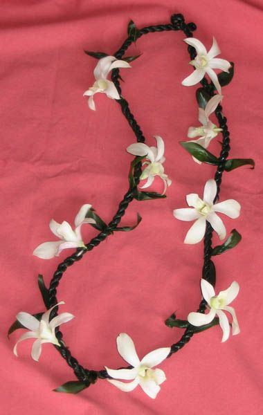 how to make a braided ti leaf lei