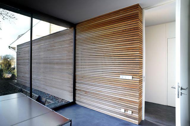 Revestimientos de madera en exterior|Espacios en madera