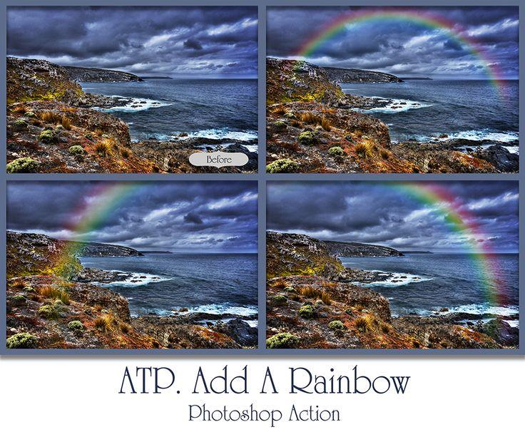 ATP. Add A Rainbow Photoshop Action by AllThingsPrecious.deviantart.com on @DeviantArt