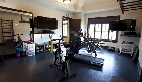 Images about home garage gym ideas on pinterest at