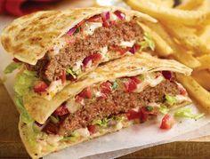 Copycat Applebee's Quesadilla Burger
