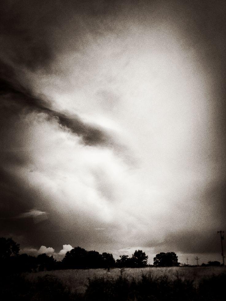 Un cielo minaccioso, Parco della Murgia south taly