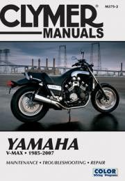 Clymer M375-2 Service Manual for 1985-07 Yamaha V-Max