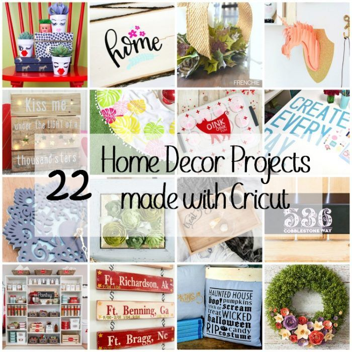 Cricut Home Decor Ideas: 78+ Images About Create With Cricut On Pinterest