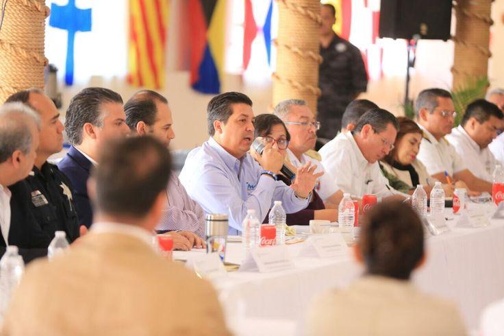 Establecen acuerdos Gobierno de Tamaulipas y Mesas de Seguridad del país