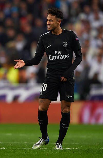 Real Madrid V Paris Saint Germain 14 02 18 Neymar Neymar Football Neymar Jr