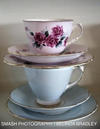 The Vintage Table -Love it! A boutique hire company specialising in vintage china and tableware. Perfect for high tea, party, wedding or corporate event with a twist.