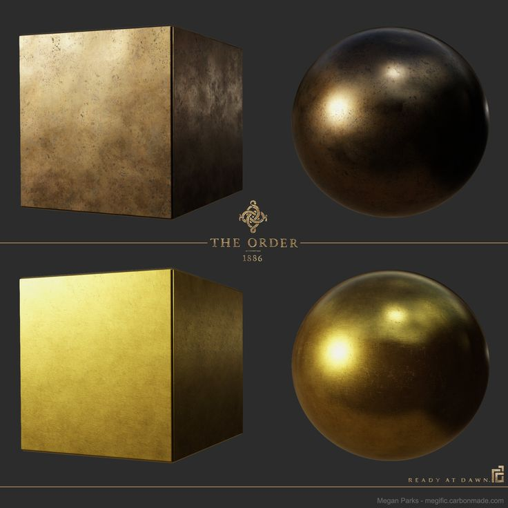 ArtStation - The Order: 1886 Antique bronze mirror and gold leaf study, Megan Parks