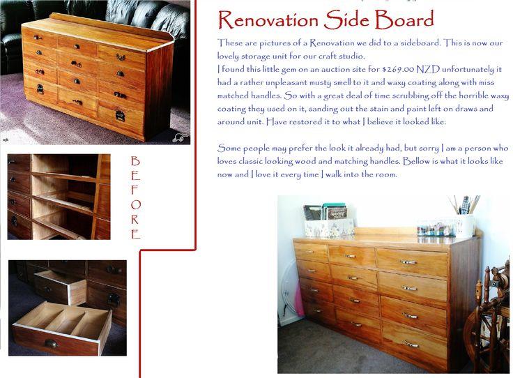 Side board Renovation.