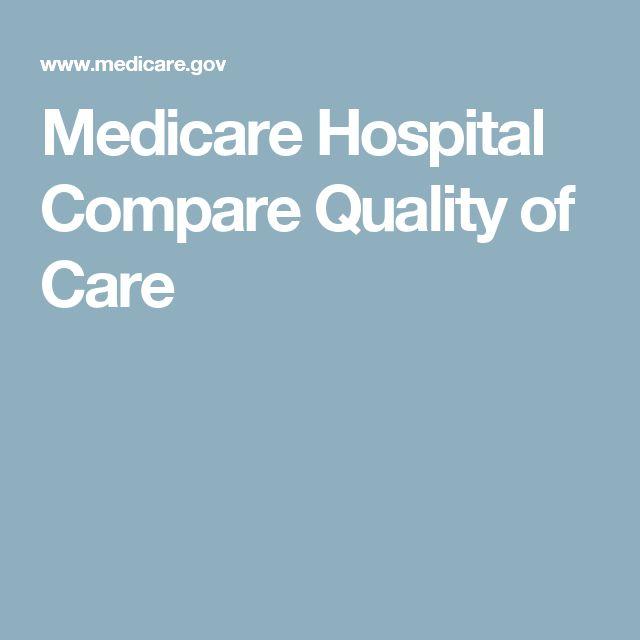 Medicare Hospital Compare Quality of Care