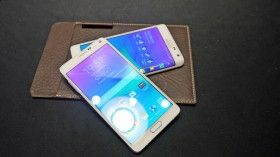 Galaxy Note 4 with the Galaxy Edge