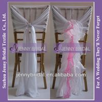 Source C003R New Style Hot sale Fancy ruffled chiavari wedding cheap chair covers for sale on m.alibaba.com