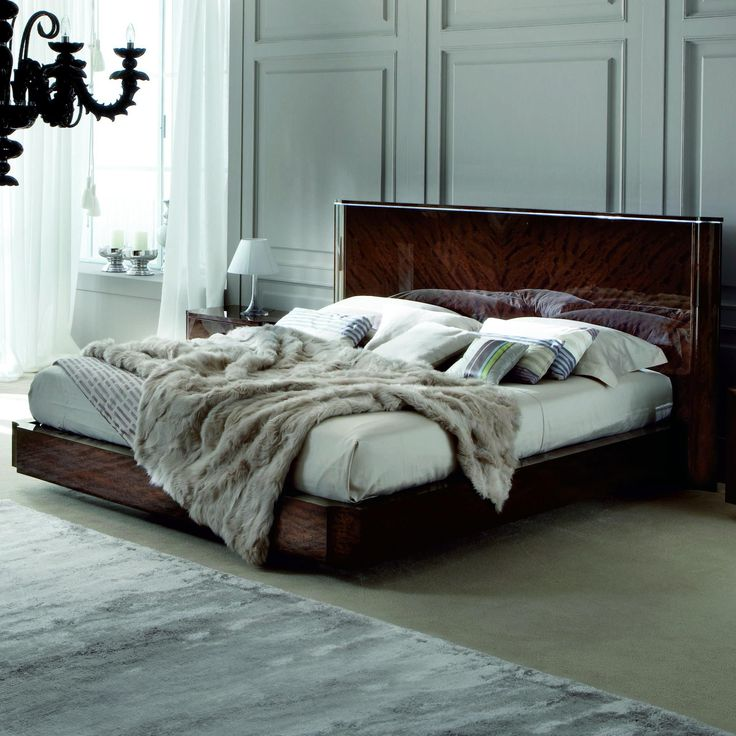 Torino Queen Size Platform Bed w/ Ortho Spring by Alf Uno Spa ...