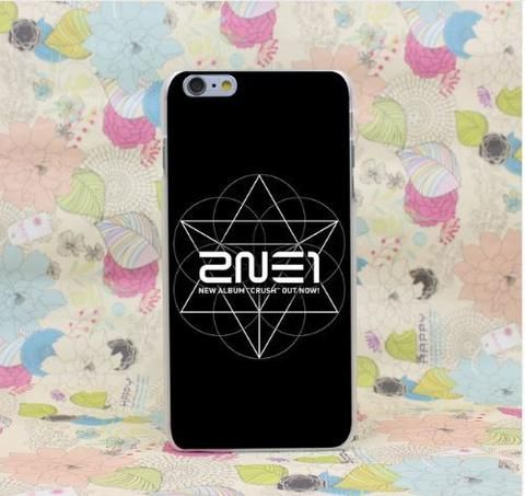 2NE1 Kpop Full Logo Inspired Design For iPhone 5 6 7 Plus  #2NE1 #Kpop #Full #Logo #Inspired #Design #For #iPhone5 #6 #7Plus