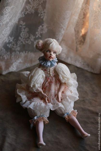 """Кукла """"Яша"""" - бледно-розовый,кукла в подарок,кукла ручной работы,кукла"""