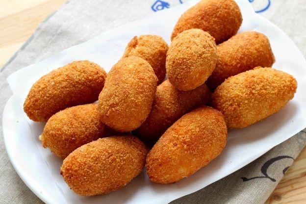 ... de croquetas on Pinterest | Croquettes recipe, Sons and Buen dia
