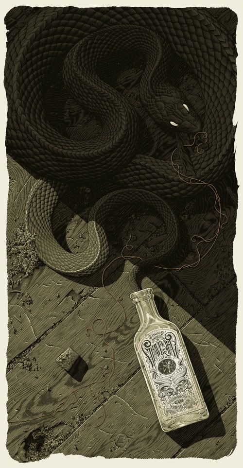 Aaron Horkey - poster for the band Graveyard
