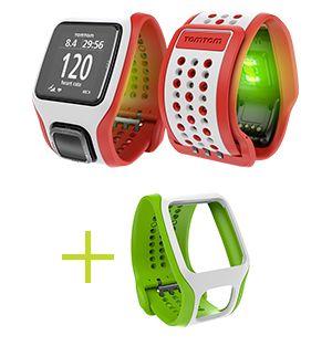 Tomtom Cardio GPS Uhren | 21run.com Bis zum 31.12.14 inkl kostenlosem Wechselarmband  #Aktion #Tomtom #cardio #GPS #Uhr