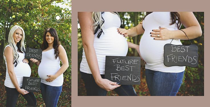 Best friends pregnant together and due a few months apart!