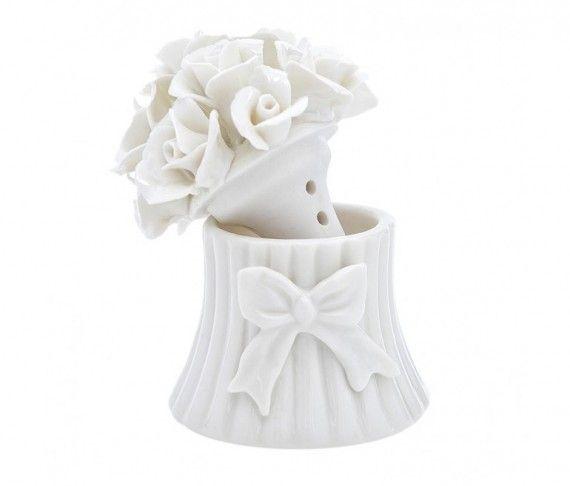Diffusore Vaso Fiocco White Daisy Cm. 7 - Atelier Creative