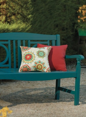 Eclectic Outdoor Furniture.