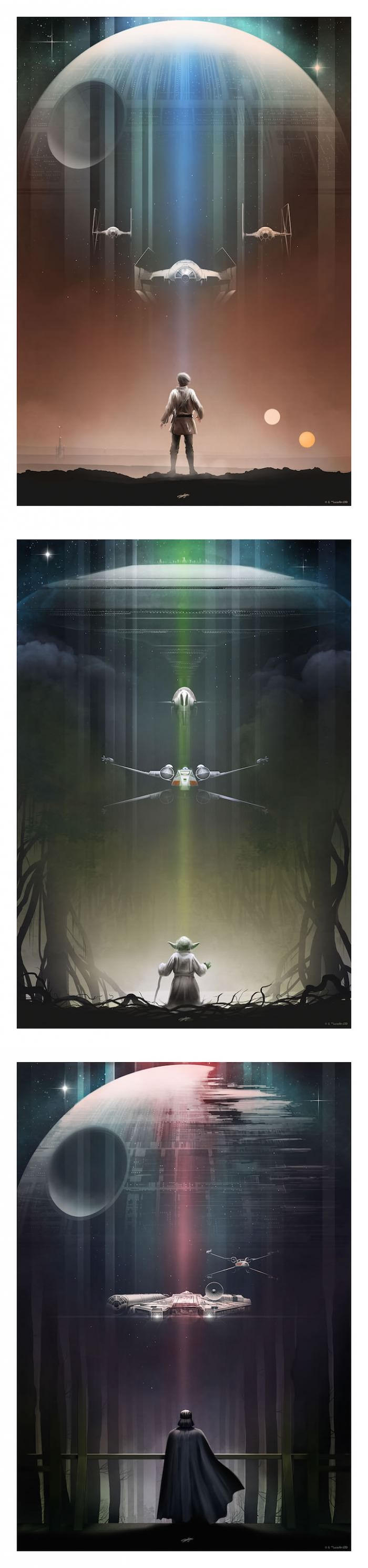 Awesome Star Wars posters by Andy Fairhurst