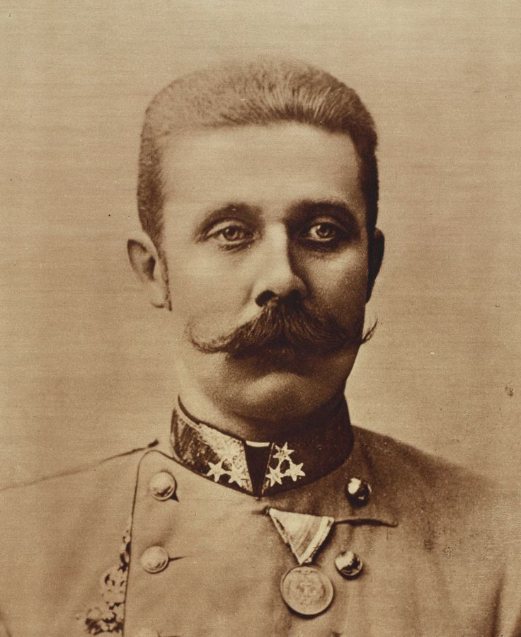 Franz Ferdinand (geboren op 18 juli, 1863) was de kroonprins van Oostenrijk-Hongarije. Hij ging in 1914 op bezoek in Sarajevo en werd daar vermoord door Gravilo Princip. Deze moord was de aanleiding voor WO1.