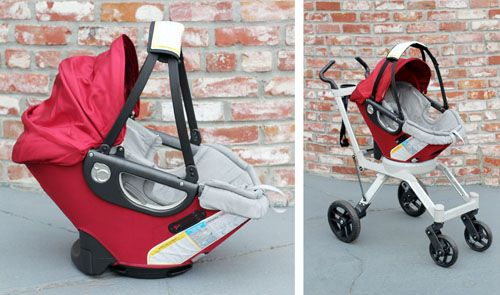 am LOVING this travel system by Orbit Baby.