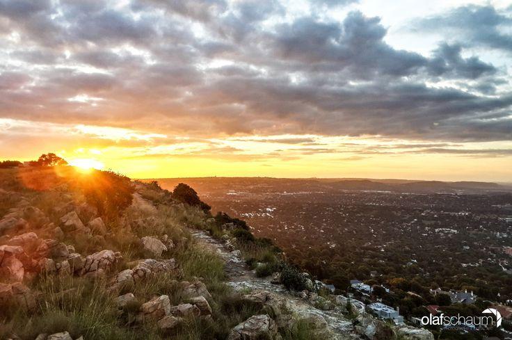 Sunset over Johannesburg by Olaf Schaum on 500px