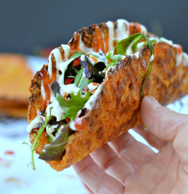 Esta Receta de Tacos Sin Gluten de Zanahoria y Queso, tienen todo lo saludable y colorido de las zanahorias y lo sabroso del Queso, una combinación perfecta y saludable!