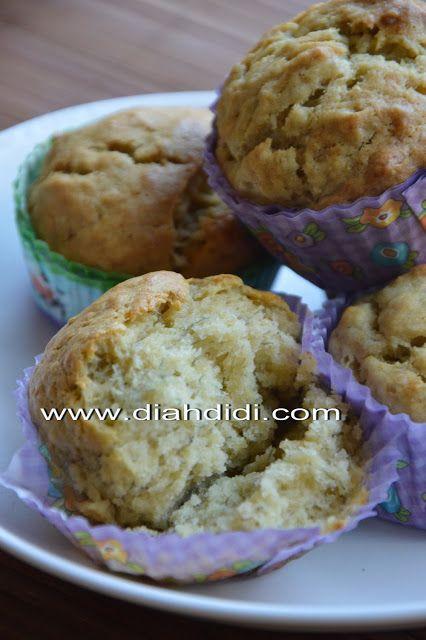 Diah Didi's Kitchen: Muffin Pisang..Mudah dan Praktis..