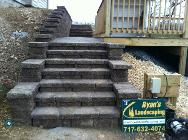 Retaining Wall Block Cleaner : Retaining wall blocks and concrete walls