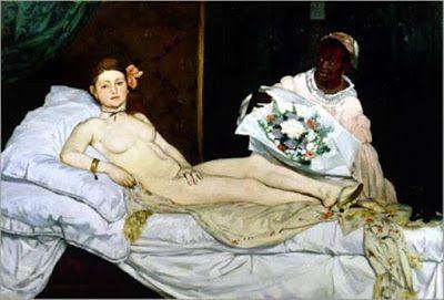 Victorine Meurent retratada por Édouard Manet – Olympia – 1863