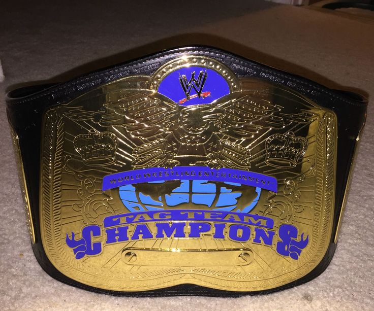 WWE Authentic Smackdown World Tag Team Championship Adult ...