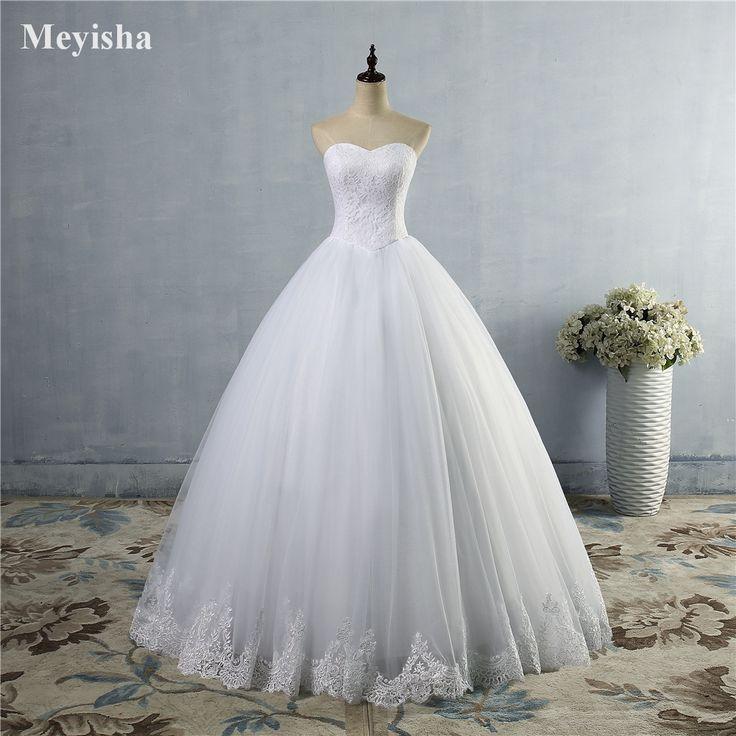 71.99$  Buy here - ZJ9014 2016 fashion Beads Crystal White Ivory Wedding Dresses for brides plus size formal sweetheart 2/4/6/8/10/12/14/16/18/20   #magazineonlinewebsite