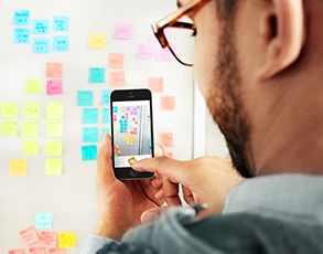 Ideas don't stop when the meeting ends. The Post-it® Plus App takes the momentum from your collaboration sessions and keeps it rolling. Simply capture your notes, organize and then share with everyone. It's that easy.