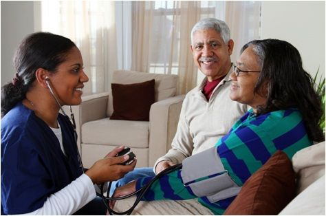 The nurse here is providing her service to an elderly family. Any type of family should be considered in giving services in the community.  (CHN considers the family as the unit of service)