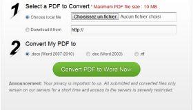 free pdf to word pour convertir vos pdf en document word