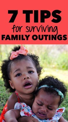 Family outings are a great way to bond and make lasting memories with your kids. Here are some key details to remember to survive a family outing!